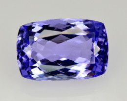 AIG CERT~5.42 Ct Natural Tanzanite Gemstone