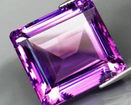 44.59 ct. Natural Top Nice Purple Amethyst Unheated Brazil - IGE Сertified