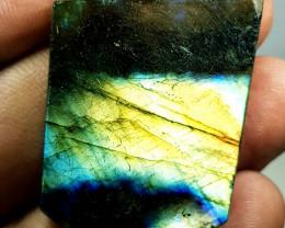 51.79 ct Natural Labradorite Sliced Fancy Cut  Gemstone