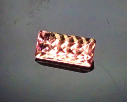 1.05ct Concave Cut Bubblegum Pink Tourmaline