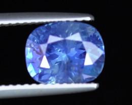 UNHEATED 2.55 CARAT UNHEATED CORNFLOWER BLUE CEYLON SAPPHIRE