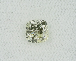 0.71ct Natural Light Yellow Diamond GIA certified