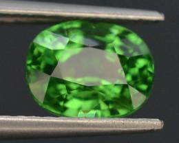 IGA Certified AAA Grade 2.65 ct Forest Green Tsavorite Garnet