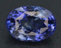 CIGTL Certified 3.47 ct Natural Untreated Blue Sapphire