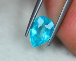 1.64ct Natural Paraiba Color Apatite Pear Cut Lot GW4928