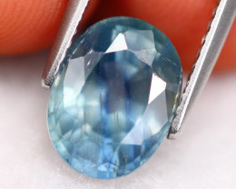 Unheated Sapphire 4.08Ct Natural Certified Sapphire ER36