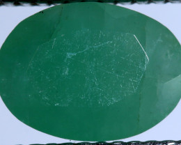 FACETED DYED EMERALD 0.85CTS ADG-683