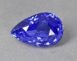 1.85 Cts Beautiful UnHeat Certified Natural CornFlower Blue Sapphire