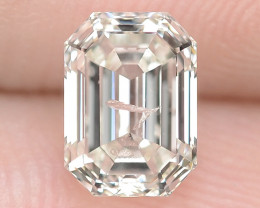 1.01 Cts Excellent Sparkling Untreated Natural White