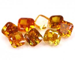 1.92Ct Natural Orange Red Color Fancy Diamond Lot BM255