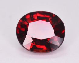 1.95 Ct Natural Orange Red  Spessartite Gemstone