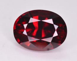 2.90 Ct Natural Orange Red  Spessartite Gemstone