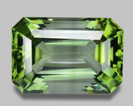 25.71 Cts UN HEATED GREEN COLOR NATURAL TOURMALINE LOOSE GEMSTONE