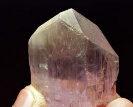 Amazing Natural color Pink Color gemmy Kunzite crystal 160 Cts-Afg