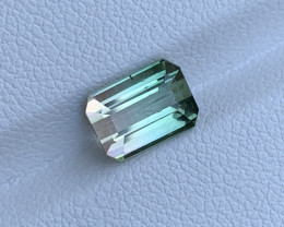 2.41 Carats Natural Bi Color Tourmaline Gemstone