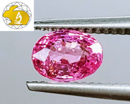 Cert. Unheated 1.24 CT Sweet Pink Mahenge Spinel FREE Shipping!