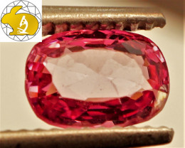 Cert. Unheated 1.43 CT Light Pink Mahenge Spinel FREE Shipping!