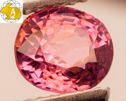 Cert. Unheated 1.51  CT BRIGHT! Purple Mahenge Spinel FREE Shipping!
