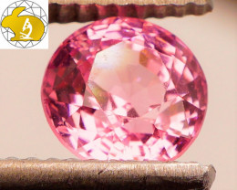 NEON GLOW! Cert. Unheated 1.58 CT Pink Mahenge Spinel FREE Shipping!