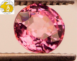 GLOWING GEM! Cert. 1.21 CT NEON Pink-Purple Mahenge Spinel FREE Shipping!