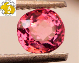 RICH COLOR! Cert. Unheated 1.37 CT Purple Mahenge Spinel FREE Shipping!