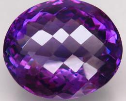 22.76 ct. Natural Top Nice Purple Amethyst Unheated Brazil