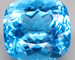 40.15 ct. 100% Natural Earth Mined Top Quality Blue Topaz Brazil