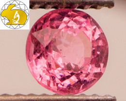 SUPER BRIGHT! Cert. Unheated NEON PINK Mahenge Spinel FREE Shipping!