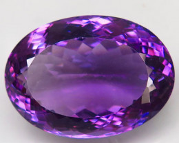 Unheated  28.59 ct. Natural Top Nice Purple Amethyst Brazil