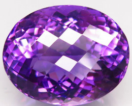 Unheated 25.77  ct. Natural Top Nice Purple Amethyst Brazil