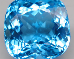30.27 ct.100% Natural Earth Mined Top Quality Blue Topaz Brazil