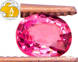 NEON BABY PINK! Unheated 0.85 CT Mahenge Spinel FREE Shipping!