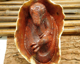 Agate carving dinosaur decoration carved gemstone