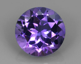 4.70 CTS AWESOME NATURAL ROUND PURPLE~VIOLET AMETHIYST GEM!!
