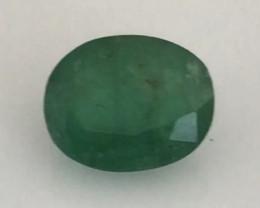 PrettyMedium Dark Green Oval 2.02ct Emerald - H690