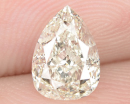 1.02 Cts Excellent Sparkling Untreated Natural White K-L Color Loose Diamon