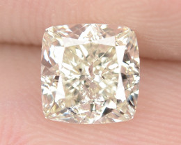 1.00 cts Untreated Natural Fancy Intense Yellow Color Loose Diamond