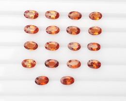 5.00 Cts Natural Spessartite Gems