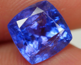 2.10 CRT WONDERFULL TANZANITE TOP COLOR GEMSTONE-