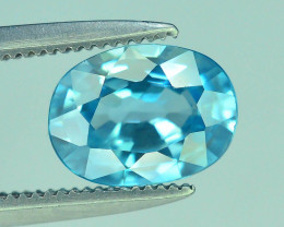 AAA Brilliance 1.95 ct Blue Zircon Cambodia