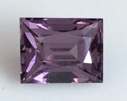 Pretty Purple 4.11ct Precision Cut Spinel - Burma HM1304