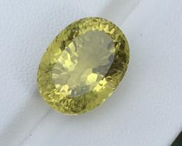 11 Carats  Lemon Quartz Gemstones