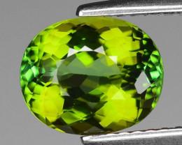 AAA Grade 2.37 Cts Lemon Green Tourmaline ~ Afghanistan TR1