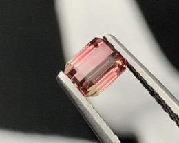 ''NO RESERE'' 1.00Cts Top Quality Natural Mesmerizing  Bi Color Tourmaline