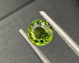 ''NR'' 1.35Cts Top Quality Natural Olive Green Color Tourmaline