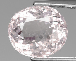 3.77 Cts Morganite Awesome Color and Luster Gemstone MR4