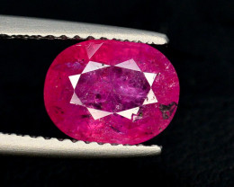 1.75 Ct Natural No Heat Ruby From Mozambique