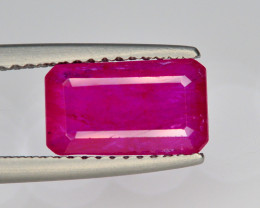 2.45 Ct Natural No Heat Ruby From Mozambique