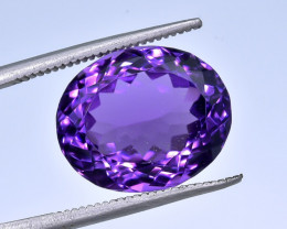 10.04 Crt Amethyst Faceted Gemstone (R47)