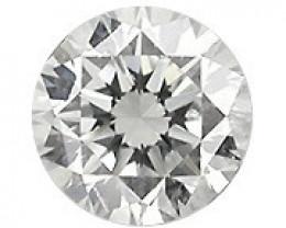 0.13 Carat Natural Round Diamond (G/SI) - 3.20 mm